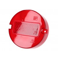 Sklíčko zadního světla 100mm červené pro Simson S50, S51, S70, KR50, KR51, Schwalbe