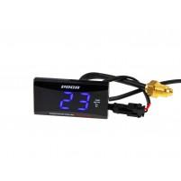 Digitální budík teploty VOCA Racing Temp-Meter 0-120 ° C, modrá