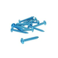 Sada hliníkových šroubů (modrá) - sada 12 ks - M5x30