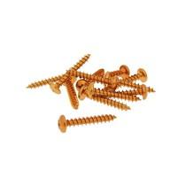 Sada hliníkových šroubů (Oranžová) - sada 12 ks - M5x30