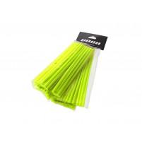 Sada plastových krytů VOCA 215 mm přední, 190 mm zadní- každá 38 kusů - neonově žlutá