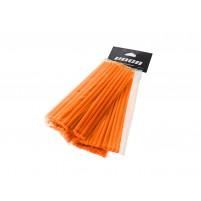 Sada plastových krytů VOCA 215 mm přední, 190 mm zadní- každá 38 kusů - oranžová