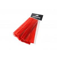 Sada plastových krytů VOCA 215mm přední, 190mm zadní- každý 38 kusů - červený