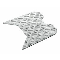 foot plate Opticparts DF checkered aluminium for TPH, NRG mc,˛ mcł