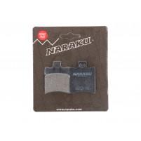 Brzdové destičky Naraku organické pro Aprilia, Malaguti, MBK, Piaggio, Yamaha