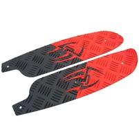 Podlaha Opticparts DF Style 16 červeno černá aluminium pro Jetforce
