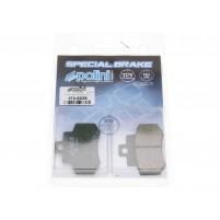 Brzdové destičky Polini organické pro Kymco Grand Dink 250 SH50DA / SH50DC