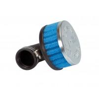 Vzduchový filtr Polini Speciální vzduchový filtr krátký 34mm 90 ° modrý