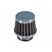 Vzduchový filtr Polini Metal Vzduchový filtr malý 35mm přímý chrom