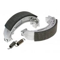 Sada brzdových čelistí Polini 110x25mm včetně pružin pro bubnové brzdy pro Aprilia Amico, SR, Malaguti Centro, Yamaha Jog