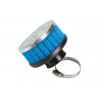 Vzduchový filtr Polini Speciální vzduchový filtr krátký 36mm rovný modrý