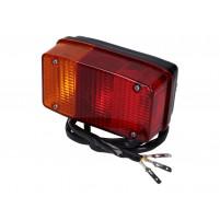 Zadní světlo kompletní včetně kabelu pro Vespa APE P50, CAR, APE 400, 401, 501, 601