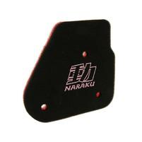 Vzduchový filtr Naraku double pro Minarelli horizontální