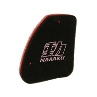 Vzduchový filtr Naraku double pro Peugeot vertikální