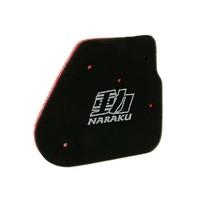Vzduchový filtr Naraku double layer pro CPI, Keeway, 1E40QMB 50cc