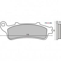 Brzdové destičky organické pro Honda Pantheon, Foresight, Forza, Silver Wing