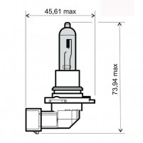 Žárovka HB3 12V 65W