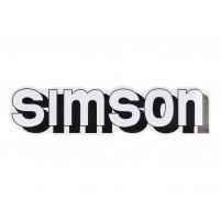 OEM samolepka Simson bílo-černá