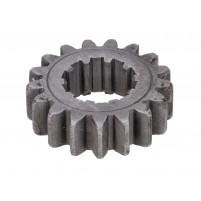 Dvojkové kolo převodovky 17 zubů pro 3-rychlostní převodovku Simson S51, S53, S70, S83, SR50, SR