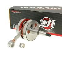 Klikový hřídel Naraku racing HPC pro Derbi Senda GPR, Aprilia RS RX SX, Gilera RCR, SMT (D50B0)