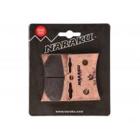 Brzdové destičky Naraku Sinter pro Aprilia AF1 Futura 125, RS 125