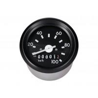 Tachometr do 100 km/h průměr 60 mm bez kontrolky pro Simson S50, S51, S70