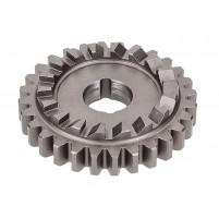Startovací kolo 28 zubů 3-, a 4-rychlostní převodovka pro Simson S51, S53, S70, S83, SR50, SR80, KR51 / 2, M531, M541, M741