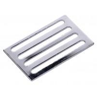 Chromovaná spona pro napínací gumoví řemínek nosiče pro Simson S50, S51, S70, KR51 / 1, KR51 / 2, SR4-1, SR4-2, SR4-3, SR4-4