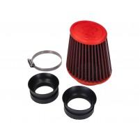 Vzduchový filtr Malossi Red Filter E18 Racing pro karburátory Dellorto PHBH, Mikuni, Keihin