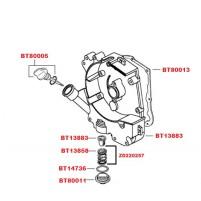 Kryt klikové skříně pravý pro GY6 139 QMB/QMA 50 ccm 4T