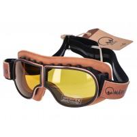 Brýle MÂRKÖ B3 Goggle Replica hnědé
