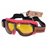 Brýle MÂRKÖ B3 Goggle Replica červené