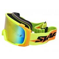 MX brýle SWAPS žlutá / oranžová - iridiová oranžová