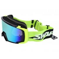 MX brýle SWAPS žlutá / černá - iridiová modrá