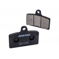 Brzdové destičky Naraku organické pro Aprilia RS, RS4, Derbi GP1, GPR, MH KN1, KN2, R
