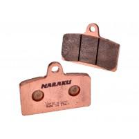 Brzdové destičky Naraku sintrované pro Aprilia RS, RS4, Derbi GP1, GPR, MH KN1, KN2, R