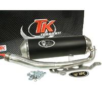 Výfuk Turbo Kit GMax 4T s homologací pro Kymco Downtown 300