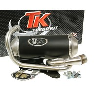 Výfuk Turbo Kit GMax 4T E-marked pro Piaggio Zip 50 4-takt, Derbi 4-takt