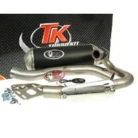 Výfuk Turbo Kit Quad / ATV s homologací pro Suzuki LZ, LTZ 400, Kawasaki KXF 400