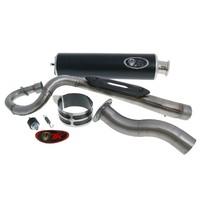 Výfuk Turbo Kit Quad / ATV s homologací pro Kymco MXer 150, MXU 150