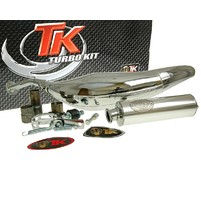 Výfuk Turbo Kit Carreras 80 chromovaný pro Minarelli AM