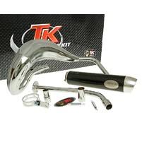 Výfuk Turbo Kit Bufanda RQ chromovaný s homologací pro Yamaha DT50 (03-)