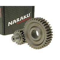 Sekundární převod Naraku Racing 17/36 +31% - GY6 125, 150ccm 152/157QMI